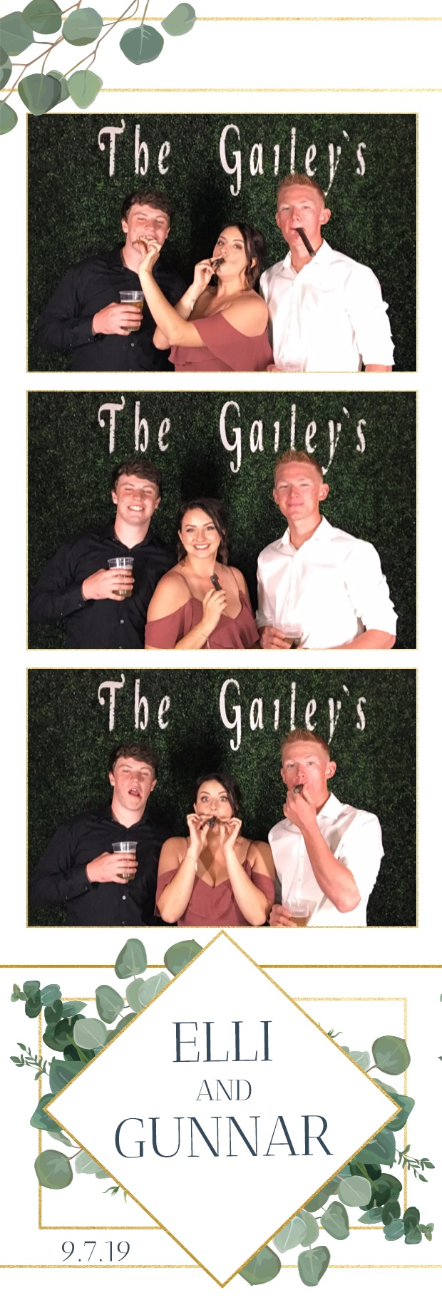 Elli & Gunnar Wedding | View more photos from the event at gallery.munsonphotobooth.com/u/MunsonPhotoBooth/Elli-Gunnar-Wedding