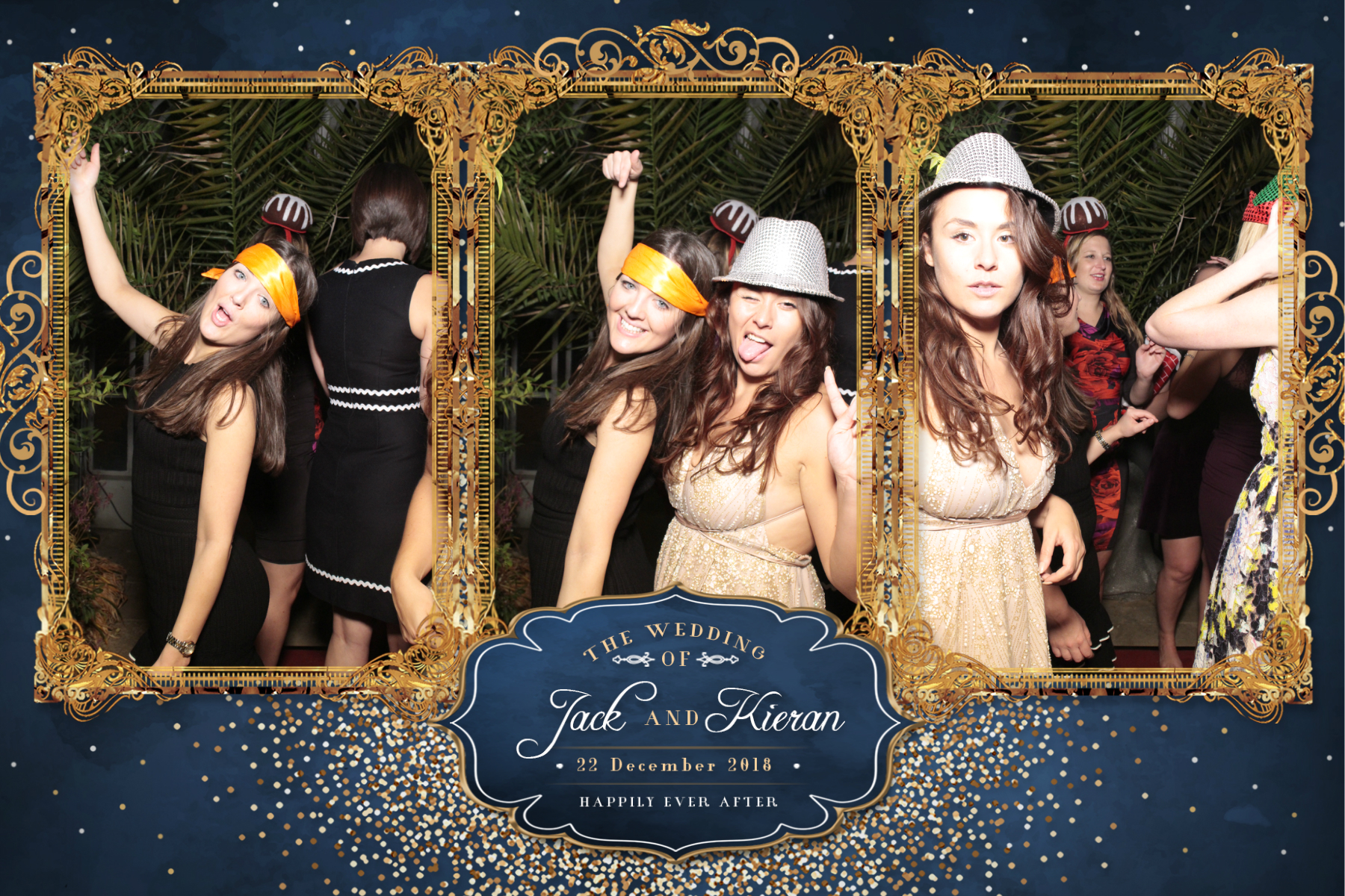 Jack and Kieran's Wedding | View more photos from the event at gallery.myphotoboothexperience.co.uk/u/MyPhotoBoothExperienceLtd/Jack-and-Kierans-Wedding