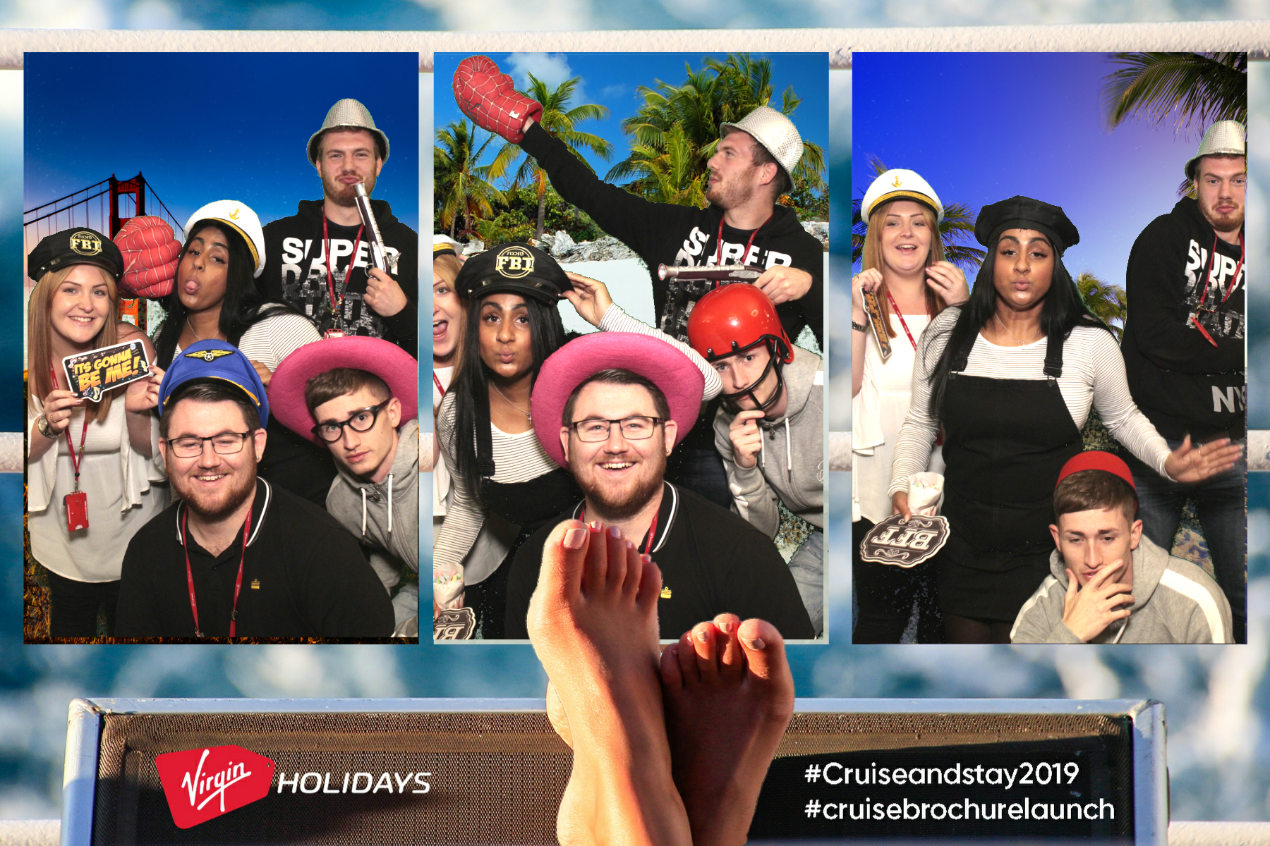 Virgin Holidays | View more photos from the event at gallery.myphotoboothexperience.co.uk/u/MyPhotoBoothExperienceLtd/Virgin-Holidays-0