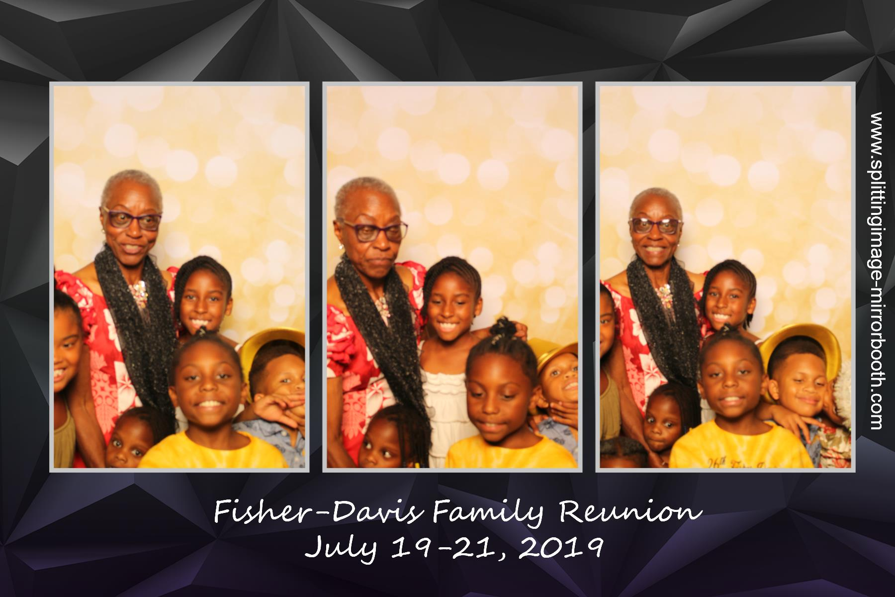 Fisher Davis Family Reunion | View more photos from the event at gallery.splittingimage-mirrorbooth.com/u/Splitting-Image/Fisher-Davis-Family-Reunion